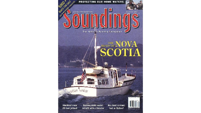 Belle Marie Soundings Cover